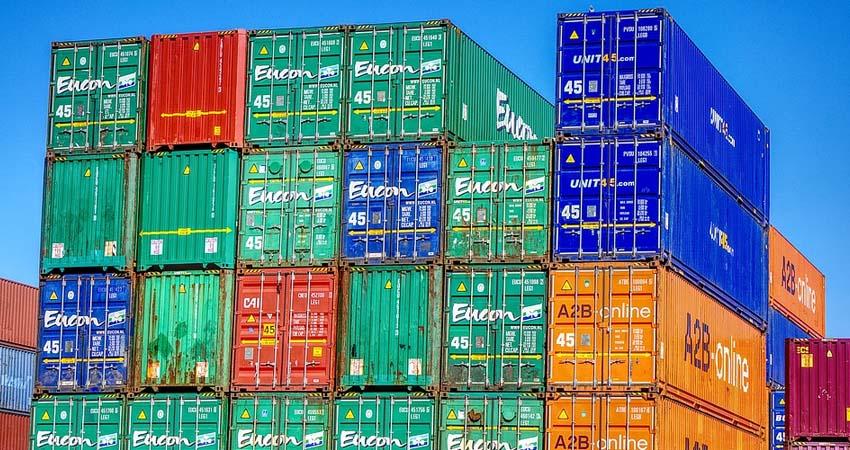 trasporto tramite container