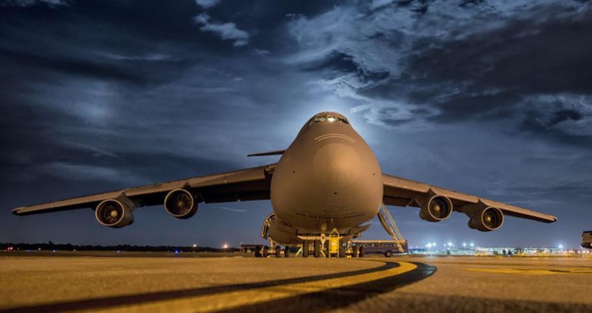 trasporto merce via aerea