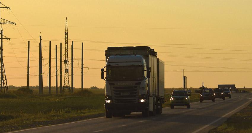 trasporto su strada verso il veneto