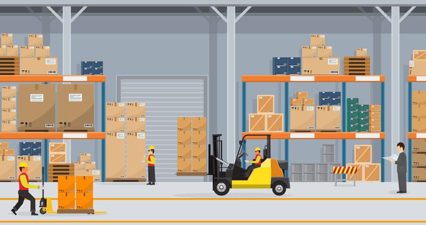 servizio di magazzino e logistica