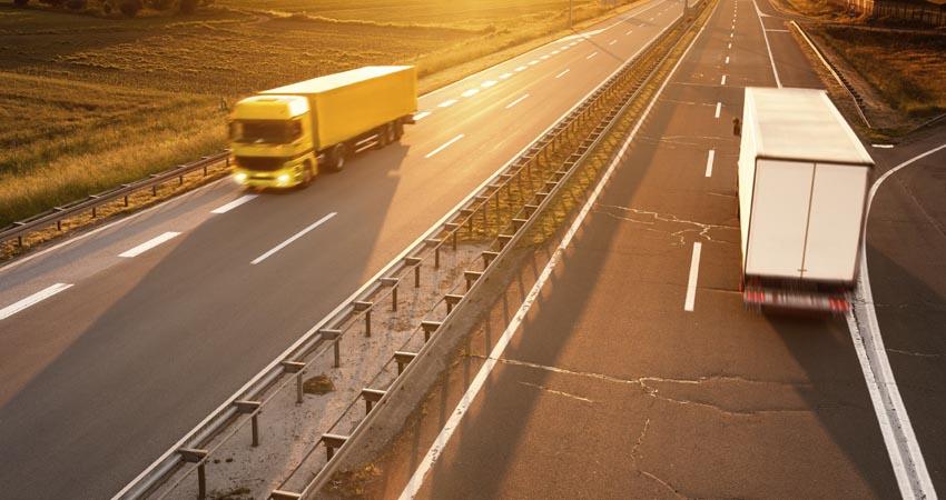 trasporto merce in italia con veicoli stradali