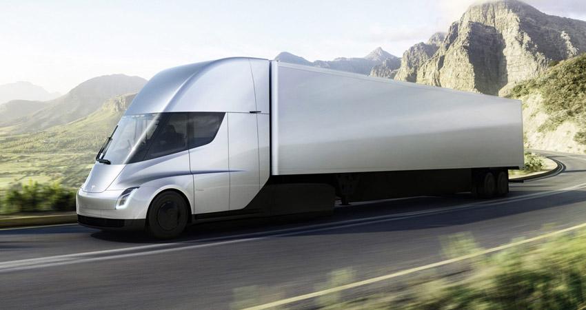 trasporti sostenibili e camion elettrici