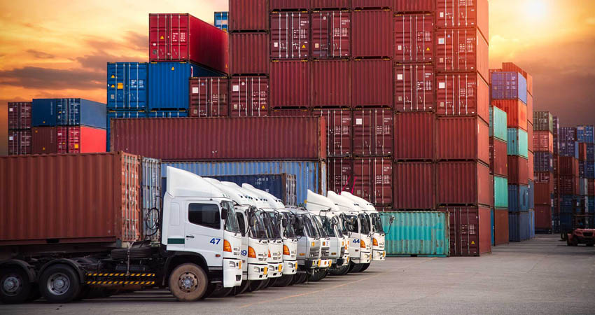 Trasporto dei container su strada